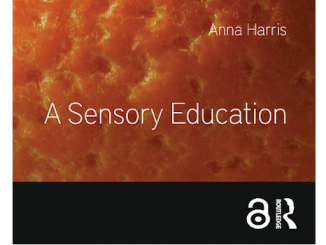 A sensory Education cover by Anna Harris